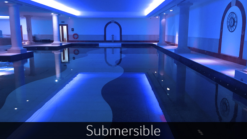 Submersible-categories