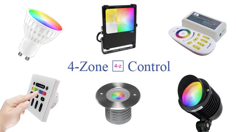 4-zone control