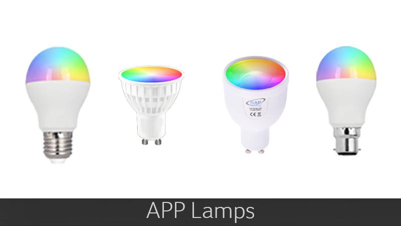 App Lamps categories