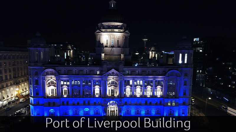 Port if Liverpool Building